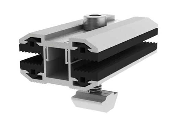 Adjustable Inter Clamp| Thin Film Panel Fittings|Solar Mount|Honunity Technology