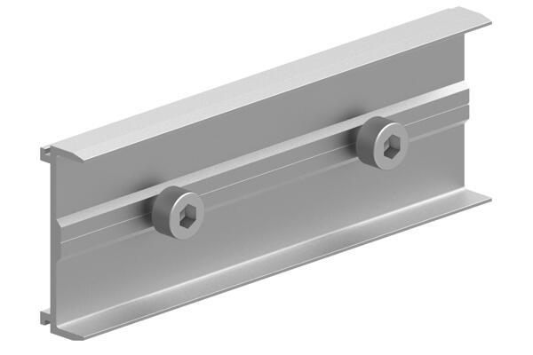 Roof Splice  Solar Rail Connector  Extruded Rail Solar Rail  Mounting System Honunity.jpg