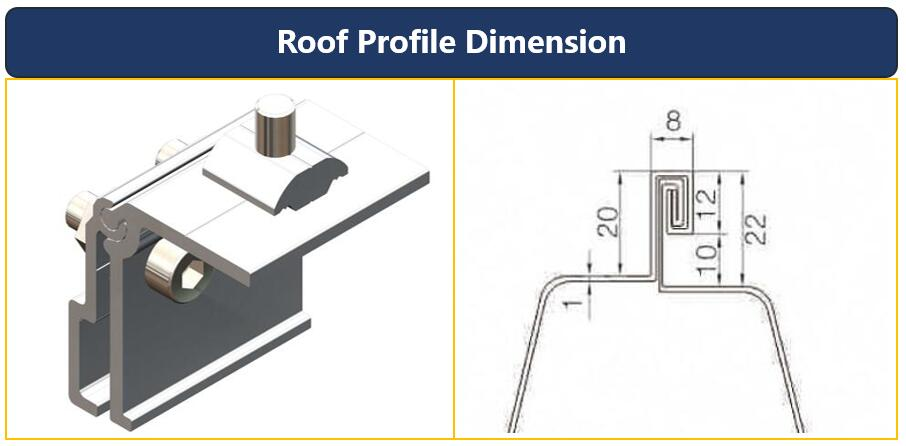 Hook Dimension|Roof Size|Roof Mount|Honunity