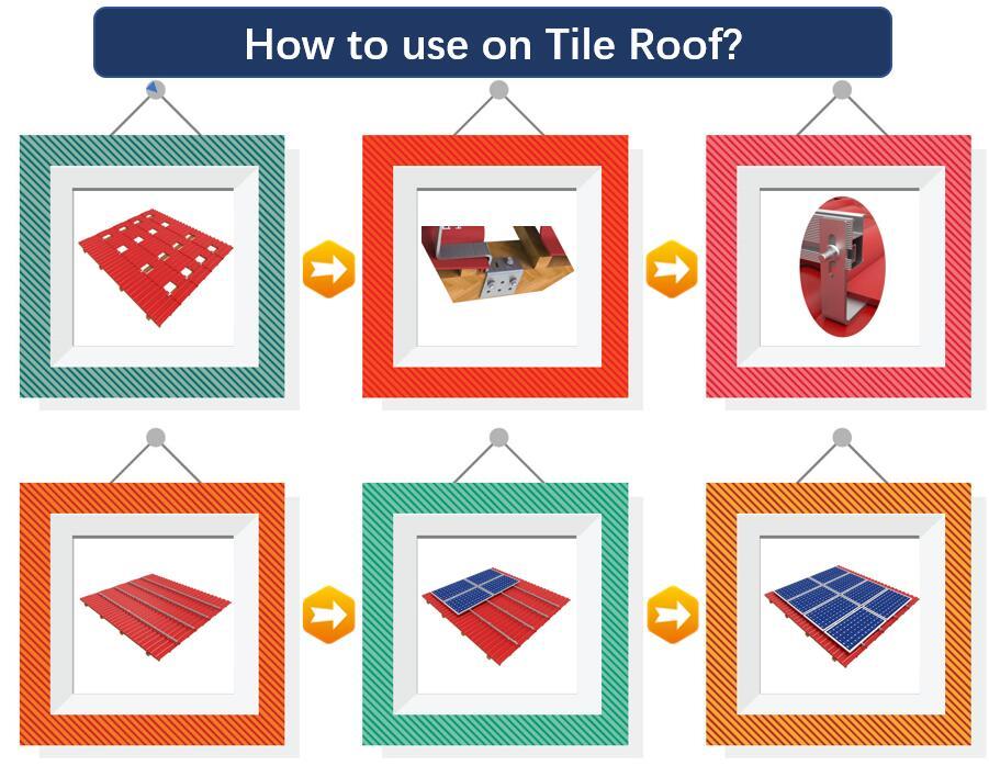 Installation Guide|Slate Roof Hook|Solar Tile Roof|Stainless Hook|Roof Mount|Honunity