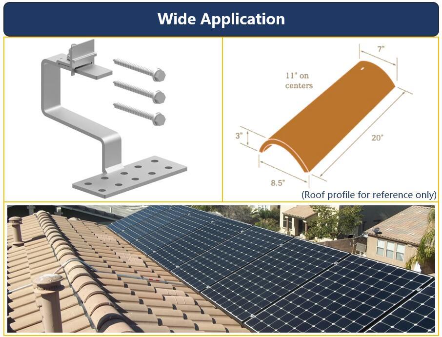 Description|Solar Tile Hook|HU-TR-04|Honunity