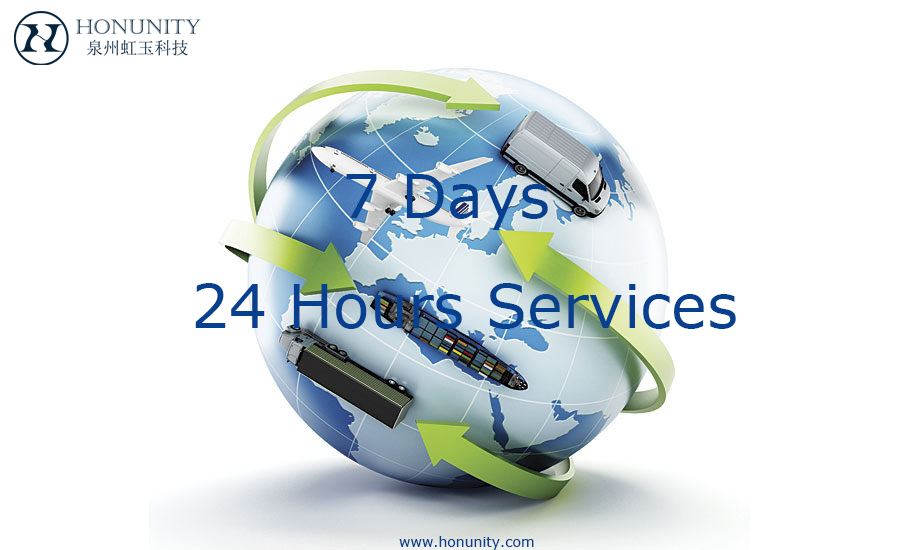 Logistics|24hours Services|Honunity