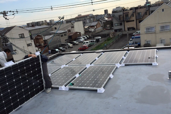 Application|Flat RC Roof|Plastic Solar Panel Corner|Mounting System Kit|Honunity Technology