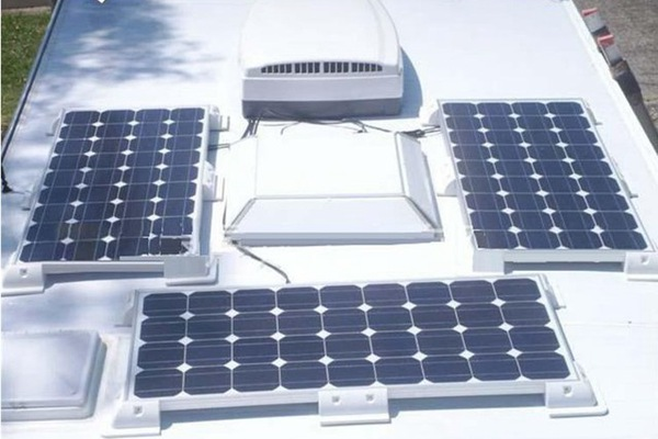 Application|Bus Roof|Plastic Solar Panel Corner|Mounting System Kit|Honunity Technology