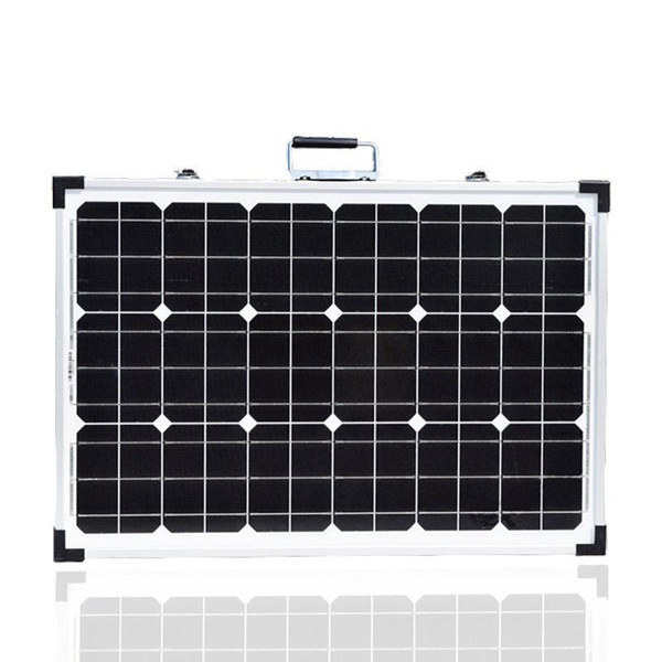 Front View_Two Panels Kit_Foldable solar Panel_Portable Solar_Solar Power System_Honunity Technology2