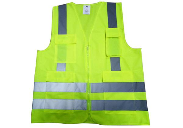 Green Color_safety Vest_Cheape Reflective Vest_Solar Installation Tool_Honunity Technology