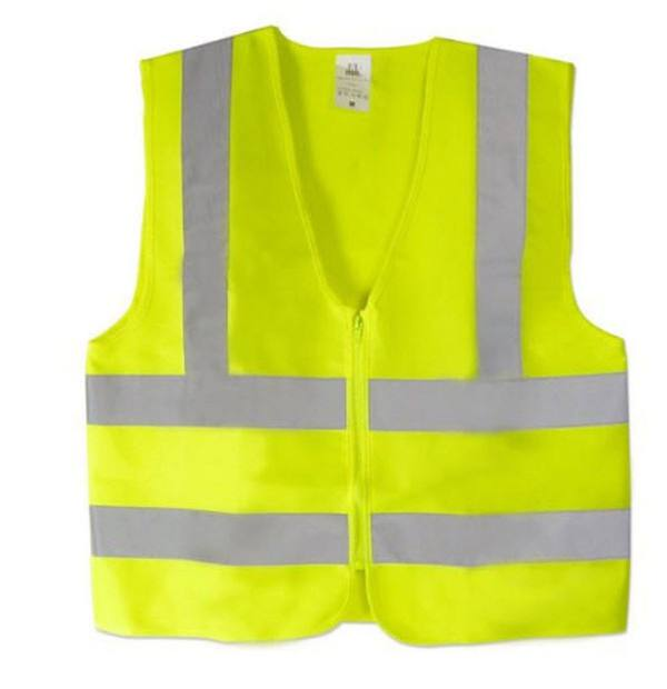 Yellow Color_safety Vest_Cheape Reflective Vest_Solar Installation Tool_Honunity Technology