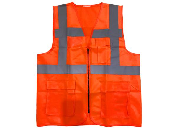Red Color_safety Vest_Cheape Reflective Vest_Solar Installation Tool_Honunity Technology