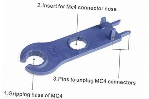Function Descri[tion_MC4 Solar Connector Disconnect_disconnecting tool_Solar Cable_Honunity technology