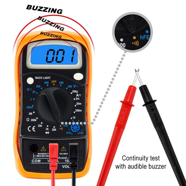 Component list_Digital Multimeter_AC_DC_Tester Meter_Solar Power Installation_Honunity Technology