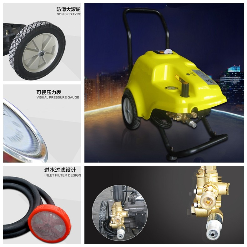 Details Description_High Pressure Pump_Solar Cleaning equipment_Solar Brush Kit_Honunity Technology