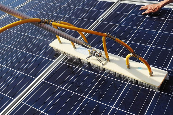 Application_Solar Cleaning Equipment_Solar Panel Cleaning_Cleaning Brush_Solar Maintenance_Honunity Technology