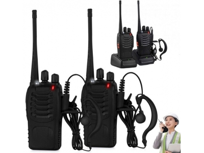 【Portable Walkie Talkie】