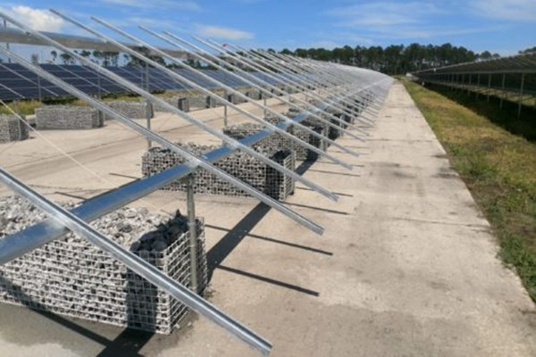 Concrete-free Ballast Design To The Ground-mount Solar Market